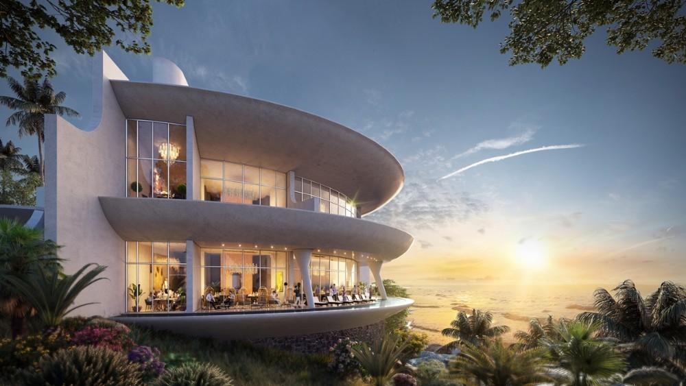 Thiết kế nhà hàng 5 sao The Eden Bay bởi Bill Bensley