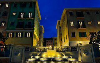 Thị trấn Sorrento về đêm