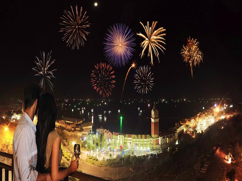 Ngắm pháo hoa ngay tại căn hộ Hillside Phú Quốc
