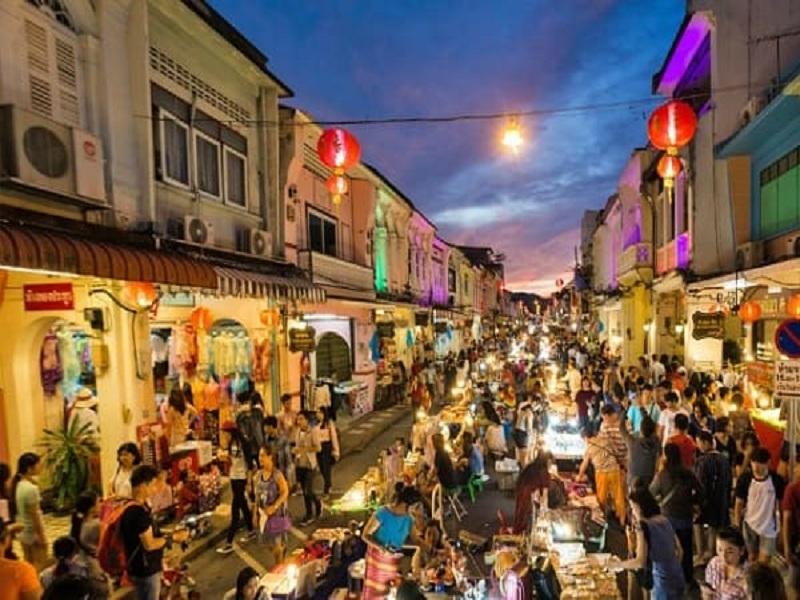 Chợ đêm ở Phuket