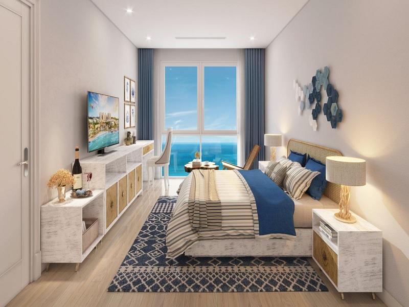 Phòng ngủ tại căn hộ Hillside